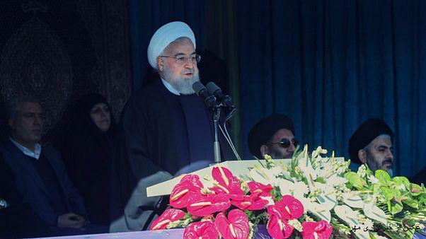 حسن روحانی: بینی آمریکا را به خاک خواهیم مالید