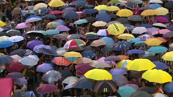 "Hong Kong's ""Umbrella Protest"" leaders go on trial"