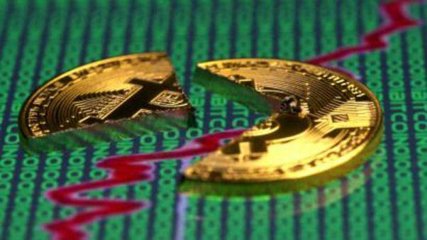 Sanal para Bitcoin son 13 ayın en düşük seviyesinde