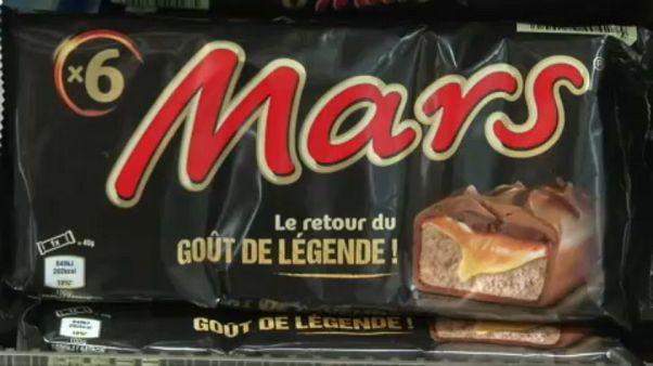 Las barras de chocolate Mars podrían sufrir con el Brexit