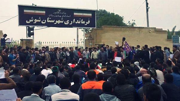 درخواست آزادی بازداشتشدگان در پانزدهمین روز اعتراضات کارگران هفتتپه