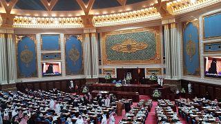 پادشاه عربستان سعودی از جامعه جهانی خواست تا به برنامه موشکی و هستهای ایران پایان دهد