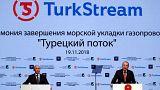 TürkAkım Projesi'nin deniz bölümü tamamlandı: Putin'den Erdoğan'a cesaret teşekkürü