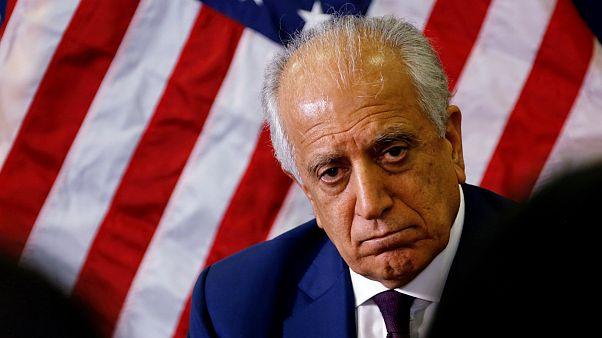 زلمی خلیلزاد نماینده آمریکا در مذاکرات با طالبان