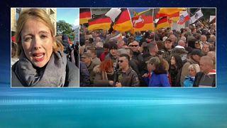 L'Allemagne dans la rue montre ses divisions