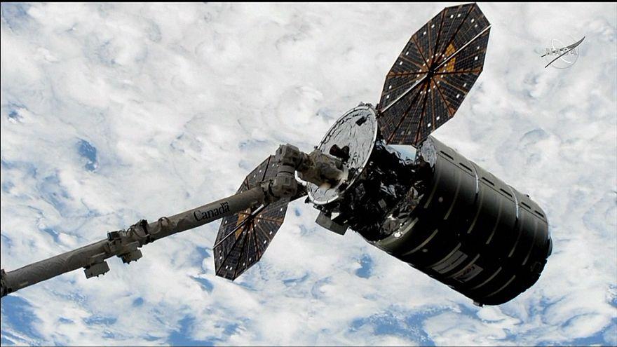 NASA'nın insansız kargo uzay aracı Uluslararası Uzay İstasyonu'na ulaştı