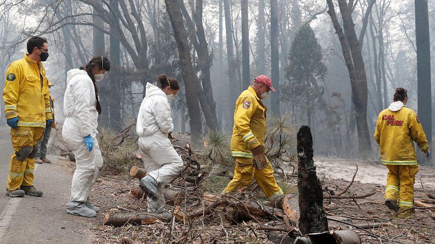 993 مفقوداً في حريق غابات كاليفورنيا.. والبحث عنهم مستمر