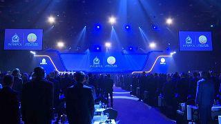 Церемония открытия Генассамблеи Интерпола в Дубае