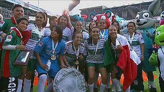 L'équipe féminine du Mexique remporte la Coupe du Monde des sans-abri
