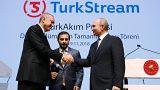 Putin e Erdogan inauguram gasoduto no Mar Negro