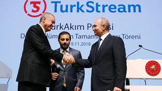 Gaslieferung durch Turkish Stream ab Ende 2019