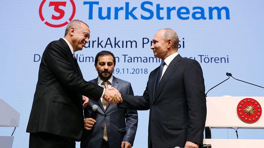 ΤurkStream: Ενώνει Πούτιν - Ερντογάν
