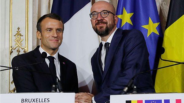 Une Europe plus unie, le credo de Macron