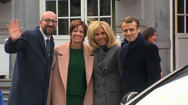 """Continua il viaggio """"europeista"""" di Macron"""