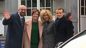 Macron wirbt in Belgien für mehr Europa