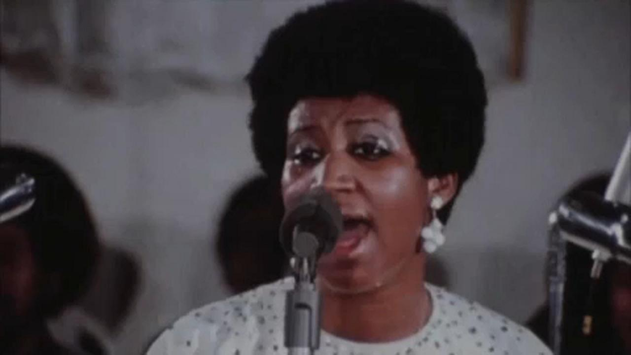 Aretha Franklin eddig dobozban lapult filmje