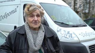 """Доброта"" спасает: блокадница помогает пенсионерам"