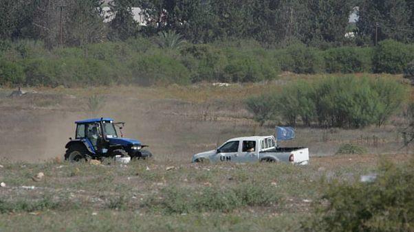 Παρενόχληση αγροτών από τον κατοχικό στρατό στην νεκρή ζώνη