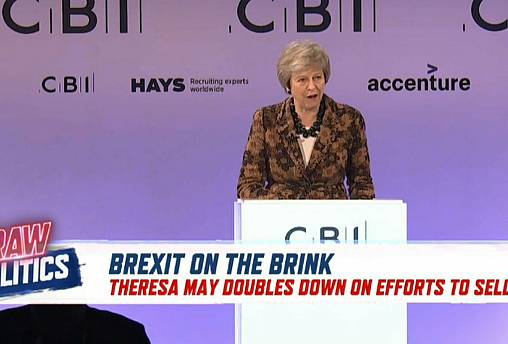 Brexit on the brink: May defends draft deal | Raw Politics