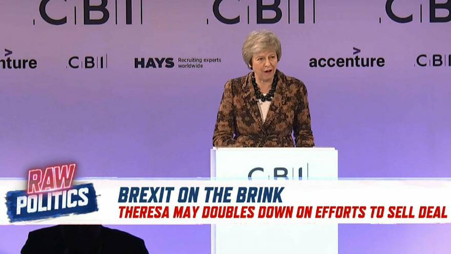Brexit on the brink: May defends draft deal   Raw Politics