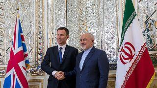 جرمی هانت و جواد ظریف در تهران