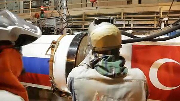 Átadták a Török Áramlat gázvezetéket
