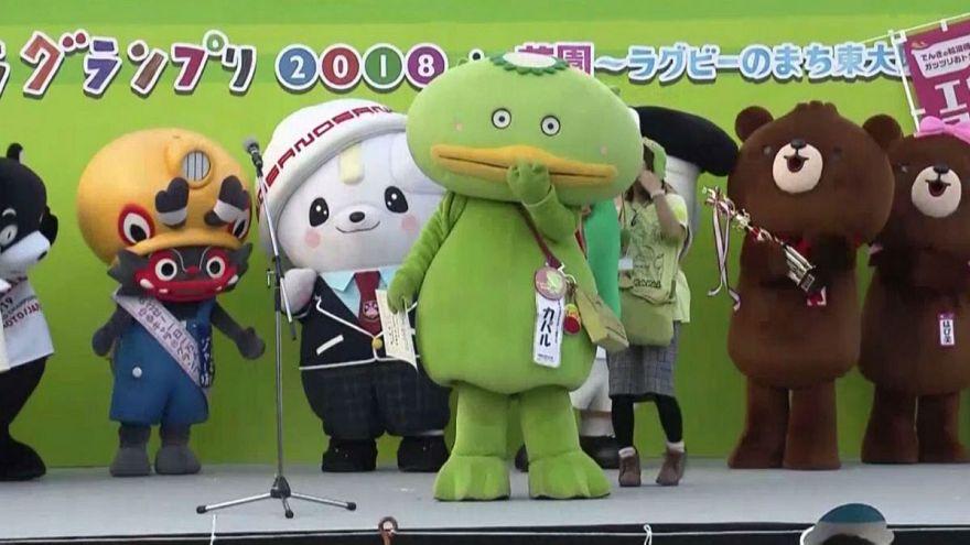 مسابقه عروسکهای شگوننما در ژاپن