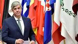 Председатель Еврогруппы Марио Сентено