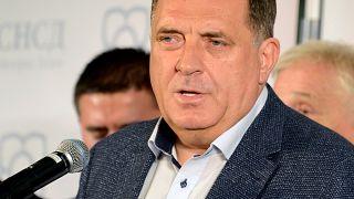 Bosna Hersekli Sırp politikacı Milorad Dodik