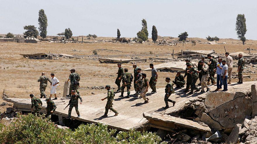 عناصر من القوات الحكومية السورية