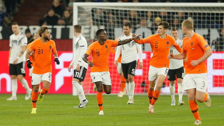 Deutschland-Niederlande 2 : 2 - Frankreich aus Nations League ausgeschieden
