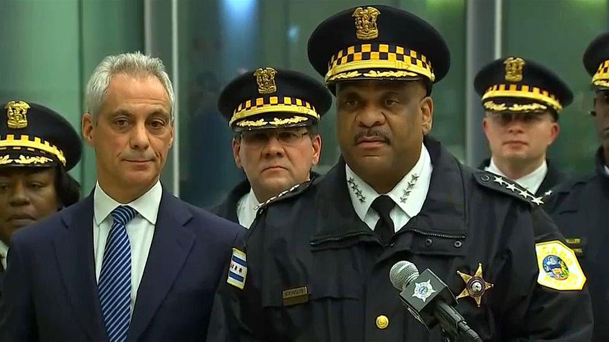 حادث إطلاق النار بأحد مستشفيات شيكاغو في الولايات المتحدة