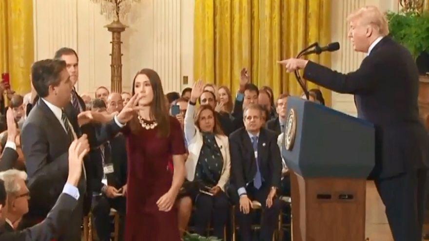 CNN muhabiri Beyaz Saray kartını geri aldı ama asırlık kurallar değişti