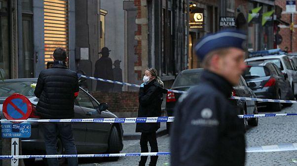 Police officer stabbed in central Brussels