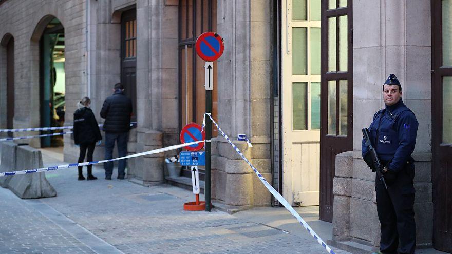 الشرطة البلجيكية ليورونيوز: منفذ حادثة طعن شرطي في بروكسل بلجيكي الجنسية