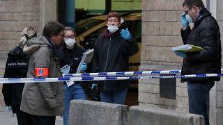 Descartan el móvil terrorista en el ataque con cuchillo contra un policía en Bruselas