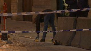 Polícia esfaqueado em Bruxelas