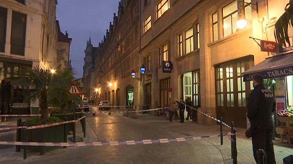 Megszúrtak egy rendőrt Brüsszel belvárosában