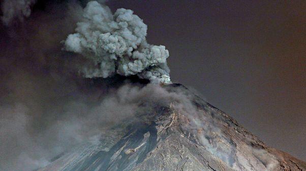 گزارش تصویری از فوران آتشفشان فوئگو در گواتمالا