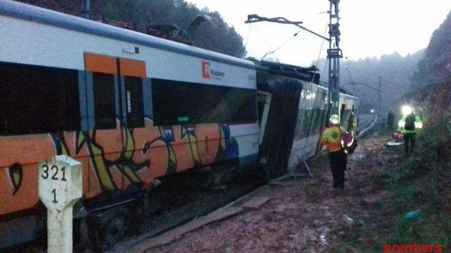 Dearaglia treno Manresa-Barcellona