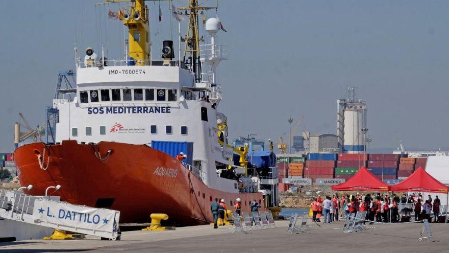 دادستان ایتالیا دستور توقیف آکواریوس، کشتی امداد به پناهجویان را صادر کرد