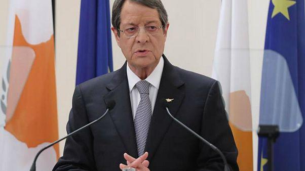 Επιταγή για ενίσχυση πυρόπληκτων στο Μάτι παρέλαβε ο Κύπριος πρόεδρος