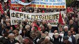 Μαζική πορεία συνταξιούχων στην Αθήνα