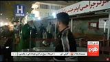موقع التفجير الذي استهدف احتفالا بالمولد النبوي في كابول