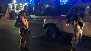 Merénylet egy kabuli esketőkápolnánál