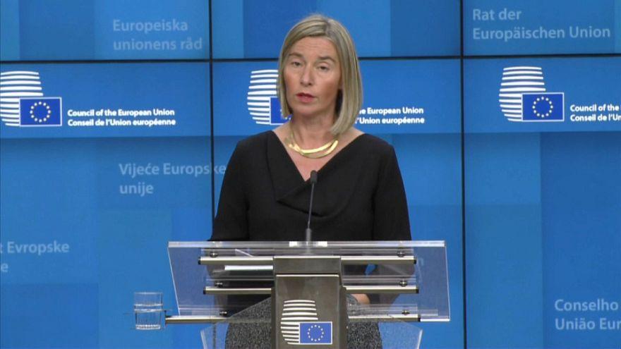 """Mogherini: """"Sophia rischia di finire senza accordo sui porti di sbarco"""""""