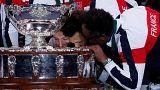 Finale de la Coupe Davis : Les Bleus sont à Lille