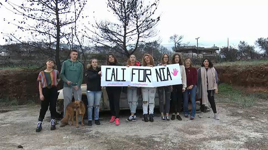 Roghi in California: la solidarietà dei giovani greci di Mati