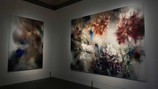 Открылась выставка картин, написанных порохом