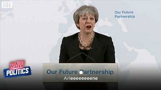 Spoof video shows May pleading with DUP leader over Brexit | Raw Politics